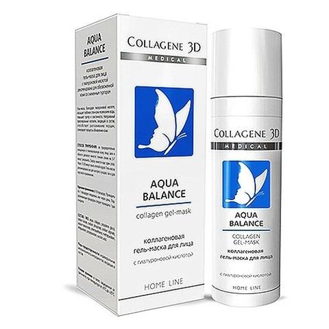 *Коллагеновая гель-маска для обезвоженной кожи со снженным тургором(Collagene3D/AquaBalance/30мл/001570)