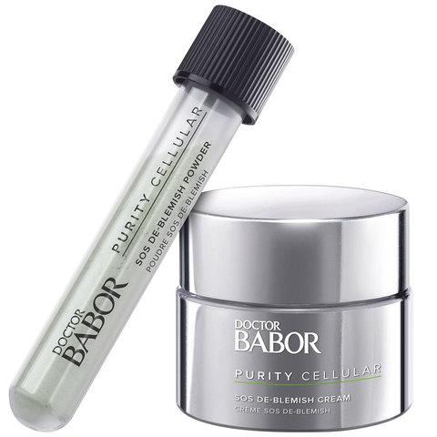 Doctor Babor SOS Набор против угревой сыпи Purity Cellular SOS De-Blemish Kit