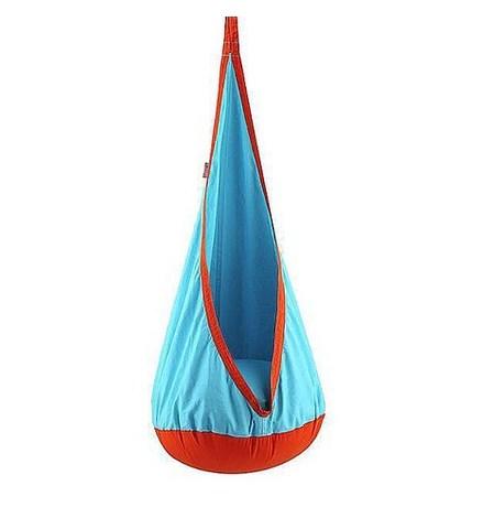 Качели кресло-Мешок для Детей OrangeLightBlue