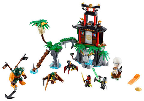 LEGO Ninjago: Остров тигриных вдов 70604 — Tiger Widow Island — Лего Ниндзяго