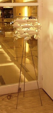 replica  School of Fish floor lamp