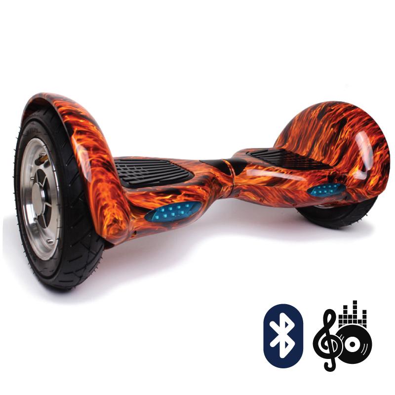 Smart Balance SUV 10  огонь красный (Bluetooth-музыка + сумка) - 10 дюймов, артикул: 638216