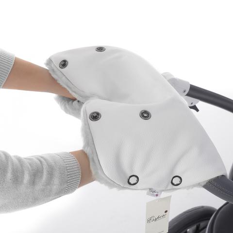 Муфта Esspero Stella для рук на коляску (100% овечья шерсть)