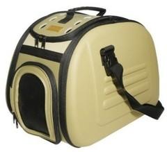 Складная сумка-переноска для собак и кошек до 6 кг, Ibiyaya, бежевая