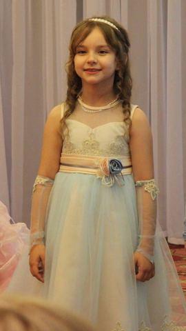Волшебное голубое платье (арт. WB1819)