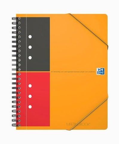 Бизнес-тетрадь International MeetingBook A5+ (18.6*21см) линейка 80л пластиковая обложка