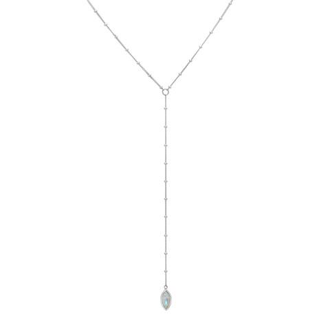 Подвеска-галстук PETALA - Лунный камень