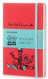 Блокнот Moleskine Limited ToyStory Large 130х210мм 240стр линейка красный (LETSQP060)