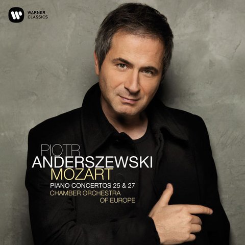 Piotr Anderszewski, Chamber Orchestra Of Europe / Mozart: Piano Concertos 25 & 27 (CD)