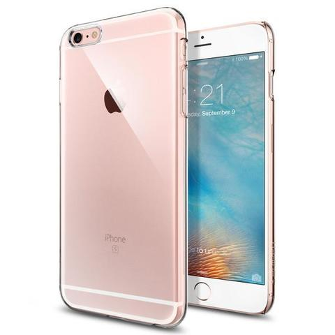 яSgp Spigen Case Thin Fit Crystal Clear SGP10885 - Защитная накладка для iPhone 6s Plus / 6 Plus