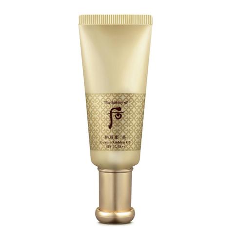 СС крем The History Of Whoo Gongjinhyang: Mi Luxury Golden CC SPF37/PA+++, 45 мл