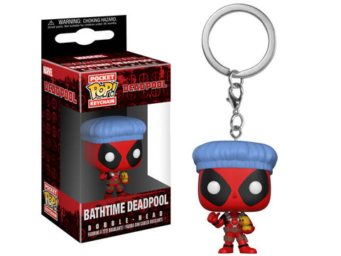 Брелок Дэдпул || POP! Keychain Deadpool Bathtime