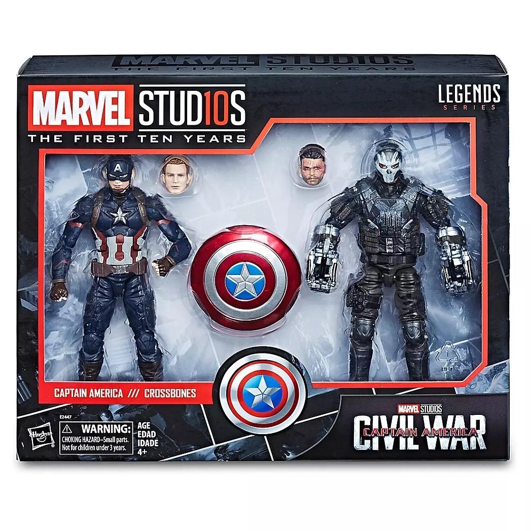 Набор фигурок Капитан Америка и Костолом Marvel Legends