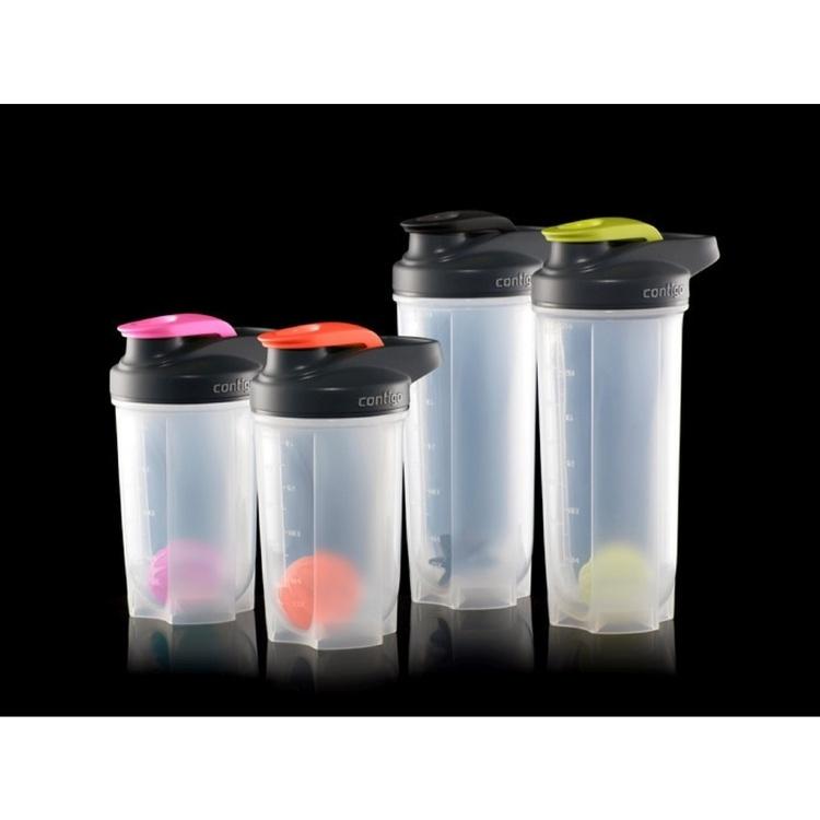 Фитнес-бутылка Contigo (0.59 литра) розовая