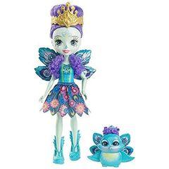 Кукла Энчантималс Пэттер Павлина и павлин Флэп (Patter Peacock и Flap) - Enchantimals, Mattel