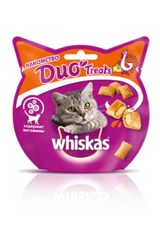 Whiskas Duo Treats 40 г лакомство с индейкой и сыром