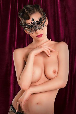 Черная металлическая маска TOYFA Theatre