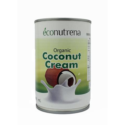 Сливки Кокосовые, органические Econutrena, 400 мл