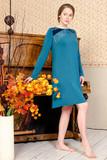 Элитное домашнее платье из вискозы Valery