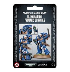 Ultramarines Primaris Upgrades