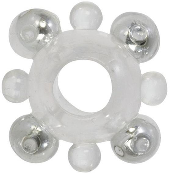 Эрекционные кольца: Кольцо с бусинами BASIC ENHANCER