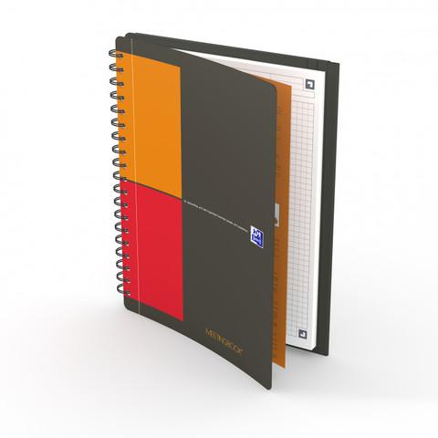 Бизнес-тетрадь International MeetingBook B5 (19.4*26.5см) клетка 80л пластиковая обложка