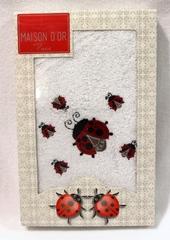 LADYBUG - ЛЕДИБАГ полотенце махровое в коробке Maison Dor Турция