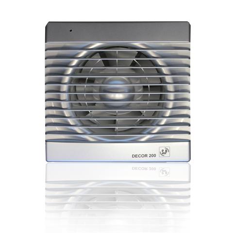 Вентилятор накладной S&P Decor 200 C Silver