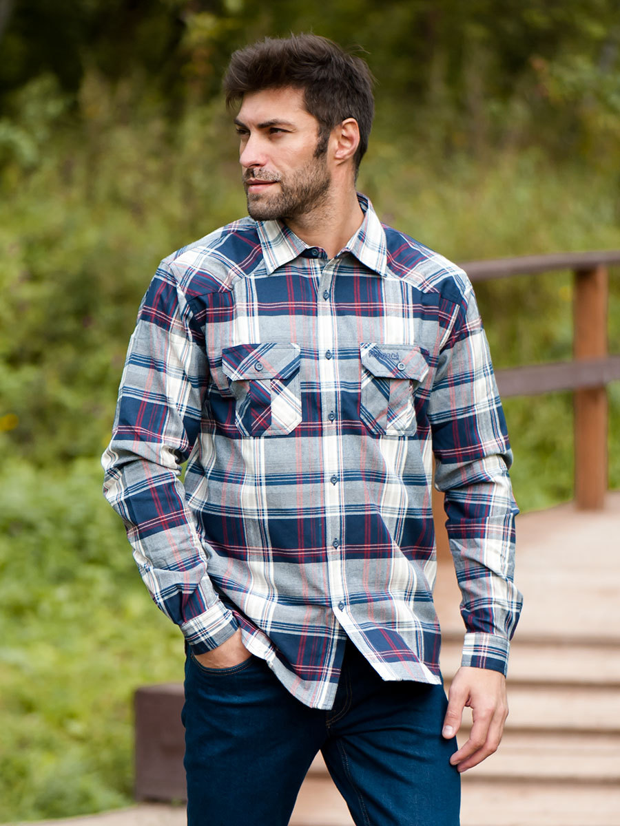 Bergans рубашка Bjorli Shirt Midnight Blue