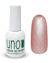 Гель-лак Uno 053 Розовый жемчуг - Pink Pearl, 12мл.
