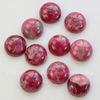 Кабошон круглый Говлит (тониров) розовый 16 мм