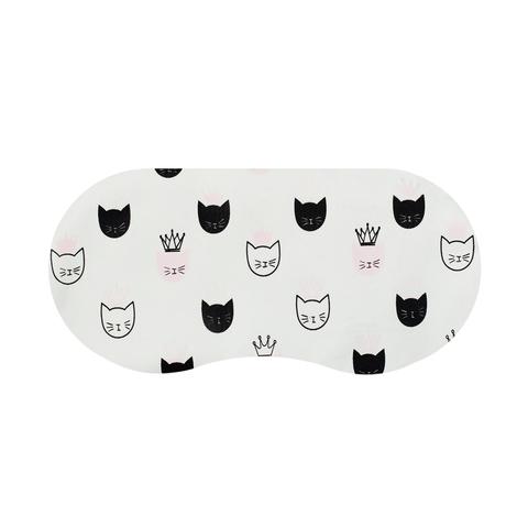Маска для сна Cat&Crown White