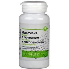 Мультивит с лютеином и ликопеном 50+, таблетки, 60 шт