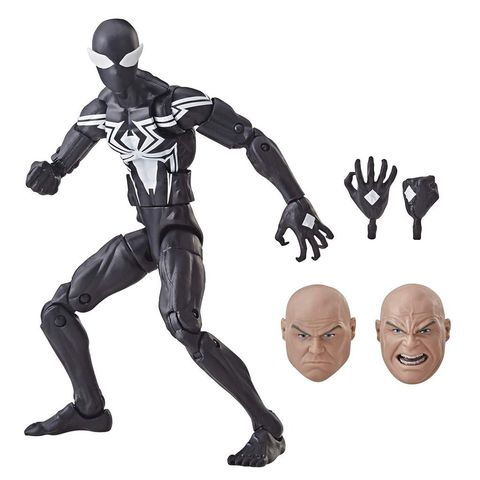 Фигурка Человек Паук (Spider-Man Symbiote) Симбиот - Marvel Legends, Hasbro