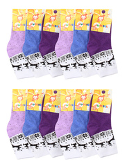 BSA23  носки детские (12 шт.). цветные