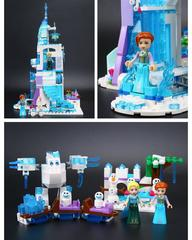Волшебный ледяной замок Эльзы 709 дет.Bela 10664 Конструктор
