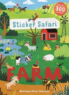 Kitab Sticker Safari: Farm   Mandy Archer