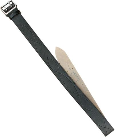 Ремень офицерский черный 50мм (ГОСТ) большой