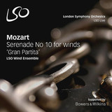 Lso Wind Ensemble / Mozart: Serenade NO. 10 In For Wings 'Gran Partita' (SACD)