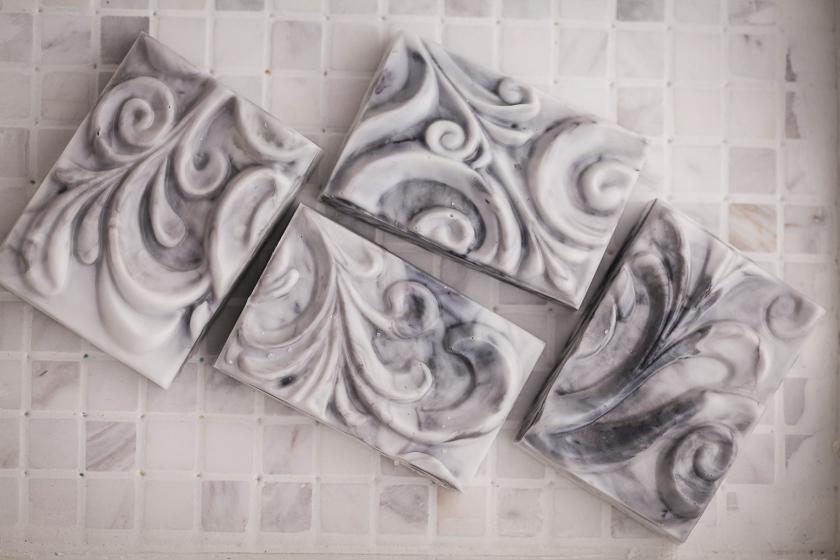 Мыло Орнамент, сделано по форме