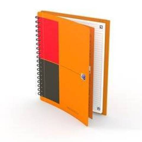 Бизнес-тетрадь International MeetingBook B5 (19.4*26.5см) линейка 80л пластиковая обложка