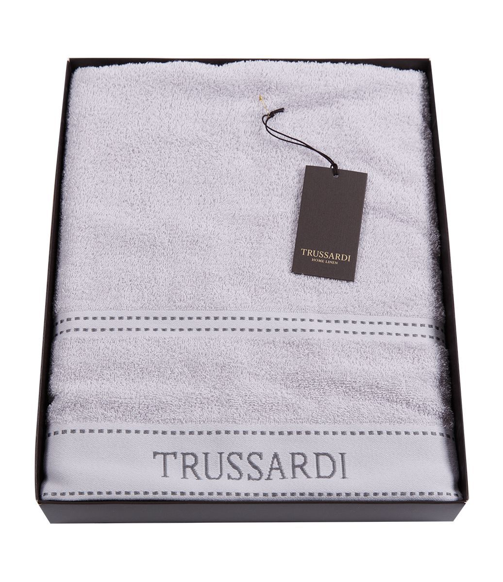 Наборы полотенец Набор полотенец 2 шт Trussardi Ribbon Pearl grey nabor-polotenets-2-sht-trussardi-ribbon-pearl-grey-italiya.jpg