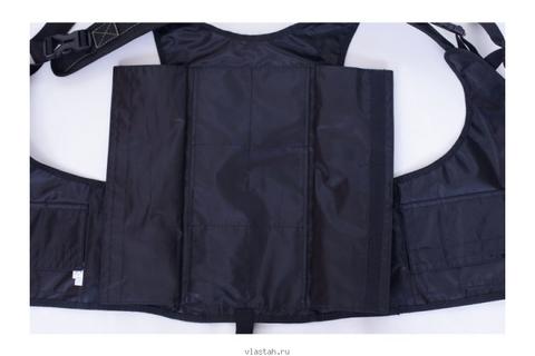 Жилет разгрузочный Сарган Тобол чёрный