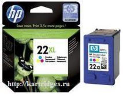 Картридж Hewlett-Packard (HP) C9352CE №22XL