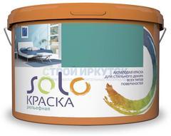Краска рельефная SOLO мрамор, 8 кг