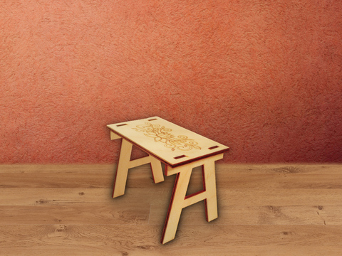 Столик с узором