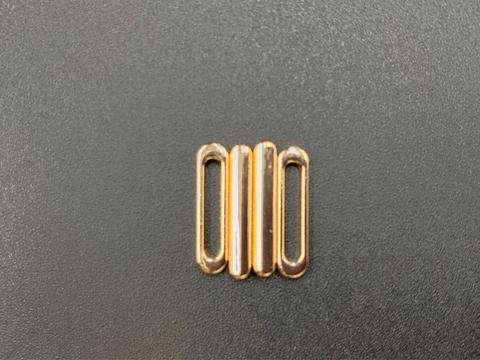Застежка металл 10 мм золотистая
