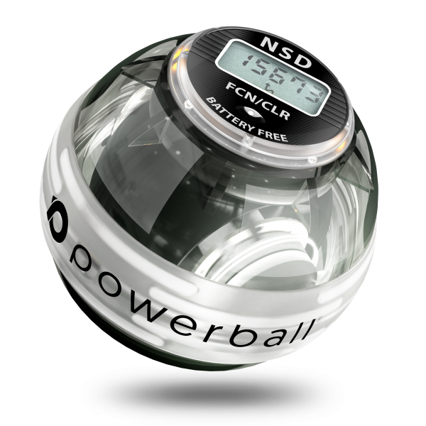 powerball со свечением и счетчиком