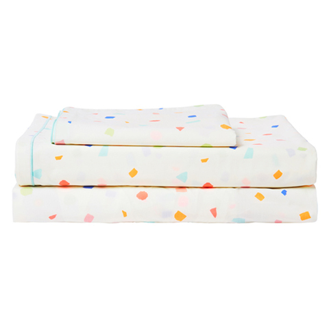 Комплект постельного белья с двойной простыней