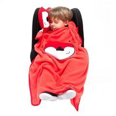 детский дорожный набор подушка и плед Trunki